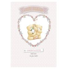 Engagement Congratulations Forever Friends Card