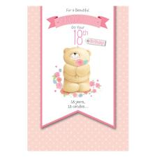 18th Birthday Granddaughter Forever Friends Card