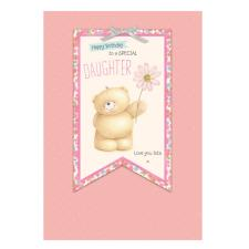Daughter Birthday Large Forever Friends Card