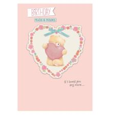 One I Love Birthday Forever Friends Card