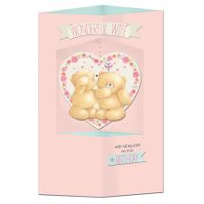 Wife Hanging Heart Forever Friends Birthday Card