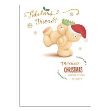 Fabulous Friend Forever Friends Christmas Card