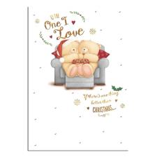 One I Love Forever Friends Christmas Card
