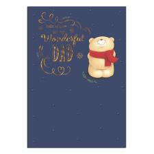 Wonderful Dad Forever Friends Christmas Card