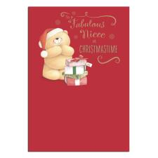 Fabulous Niece Forever Friends Christmas Card