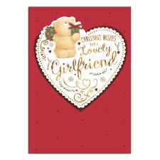 Girlfriend Forever Friends Christmas Card