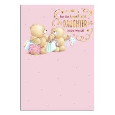 Loveliest Daughter Forever Friends Birthday Card