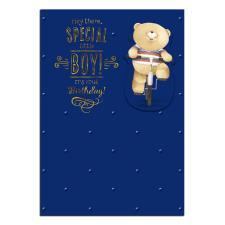 Special Little Boy Forever Friends Birthday Card