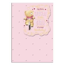 Special Little Girl Forever Friends Birthday Card