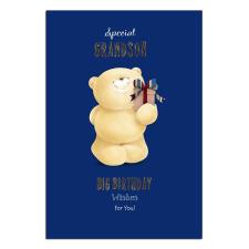 Special Grandson Forever Friends Birthday Card