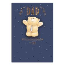 Dad Big Hugs Forever Friends Fathers Day Card