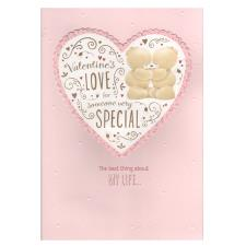 Someone Special Forever Friends Valentines Day Card