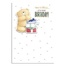 Time To Relax Forever Friends Birthday Card