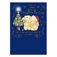 Son & Daughter In Law Forever Friends Christmas Card