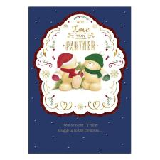 Partner Forever Friends Christmas Card