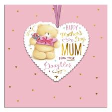 Mum From Daughter Forever Friends Keepsake Mothers Day Card