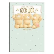 Good Luck Banner Forever Friends Card