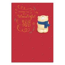 Wonderful Son Forever Friends Christmas Card