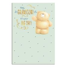 Grandson Forever Friends Birthday Card