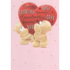 Female Grandparent Forever Friends Valentines Day Card
