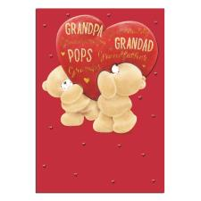 Male Grandparent Forever Friends Valentines Day Card