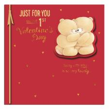 Our 1st Valentine's Day Forever Friends Valentines Day Card