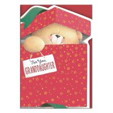 For You Granddaughter Forever Friends Christmas Card