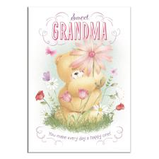 3D Holographic Sweet Grandma Forever Friends Mother's Day Card
