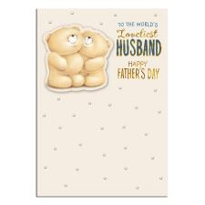 Loveliest Husband Forever Friends Fathers Day Card
