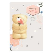 Wonderful Aunty Forever Friends Mother's Day Card