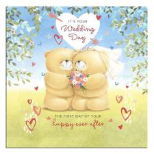 3D It's Your Wedding Day Forever Friends Card