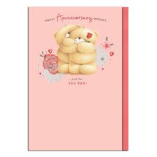 Just For You Two Forever Friends Anniversary Card