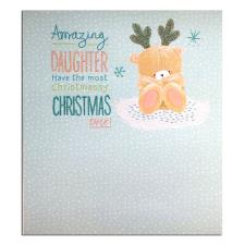 Amazing Daughter Forever Friends Christmas Card