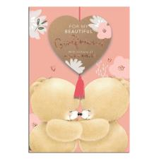 Beautiful Girlfriend Forever Friends Keepsake Birthday Card