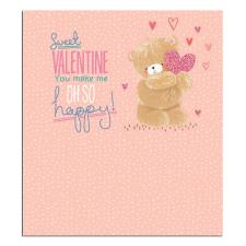 Sweet Valentine Forever Friends Valentine's Day Card