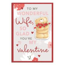 Wonderful Wife Forever Friends Valentine's Day Card