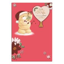 Wonderful Wife Forever Friends Christmas Card