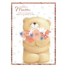 Wonderful Mum Forever Friends Large Mother's Day Card
