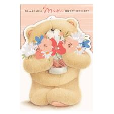 Lovely Mum Forever Friends Father's Day Card