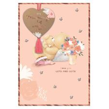 Mummy's 1st Forever Friends Keepsake Mother's Day Card