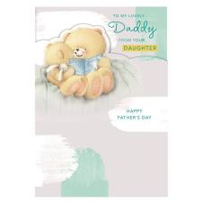 Daddy From Daughter Forever Friends Father's Day Card