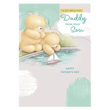 Daddy From Son Forever Friends Father's Day Card