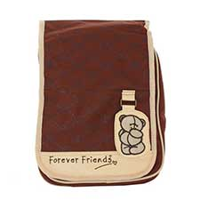 Forever Friends Shoulder Fashion Bag Brown