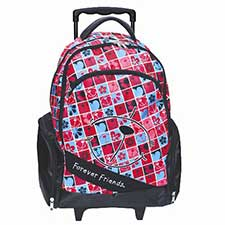 Forever Friends Oval Trolley Bag