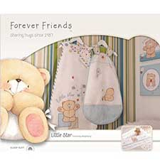 0-6 months Forever Friends Little Star 1 tog Sleep Suit