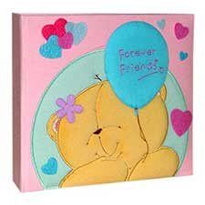 Forever Friends boxed Fabric Covered Photo Album