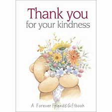 Thank you for your Kindness Forever Friends Book