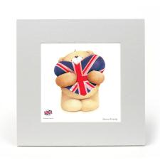 Union Jack Heart Forever Friends LIMITED EDITION Print