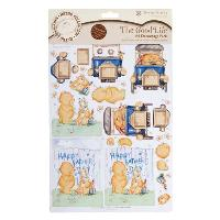 A4 Father & Son Retro Decoupage Pack