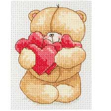 Hearts Forever Friends Cross Stitch Kit